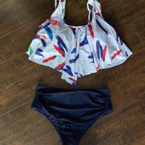 Women's two piece bathing suit